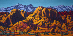 Valley of Fire 30 X 60 $8400